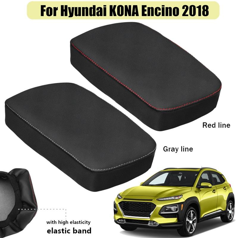 For Hyundai Kona Encino 2017-2019 Car Central Armrest Box Cover Protection Case