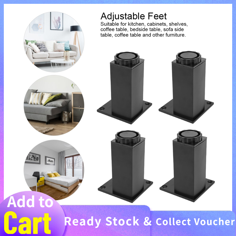 Cupboard Cabinet Furniture Accessories, How To Add Adjustable Feet Furniture