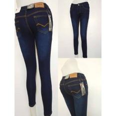 }COD fashion Lowwait skinny jeans for girl strechable 8905