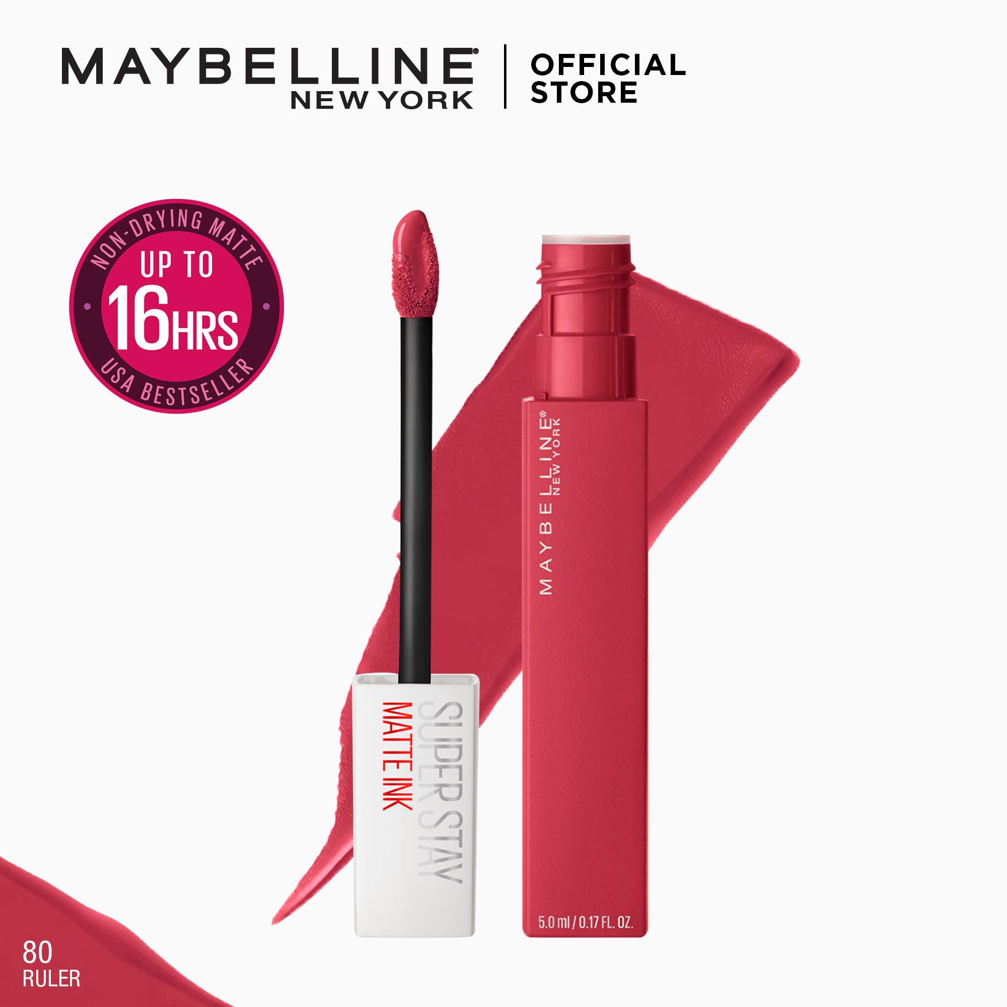 SuperStay Matte Ink Unnude Liquid Lipstick [16HR Waterproof] by Maybelline