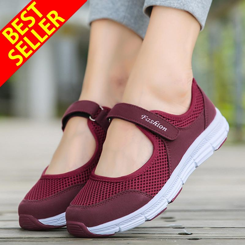 51a913d05565 QINGSHUI Fashion Women Sneakers Comfortable Sport Running Shoes Women  Casual Shoes- intl