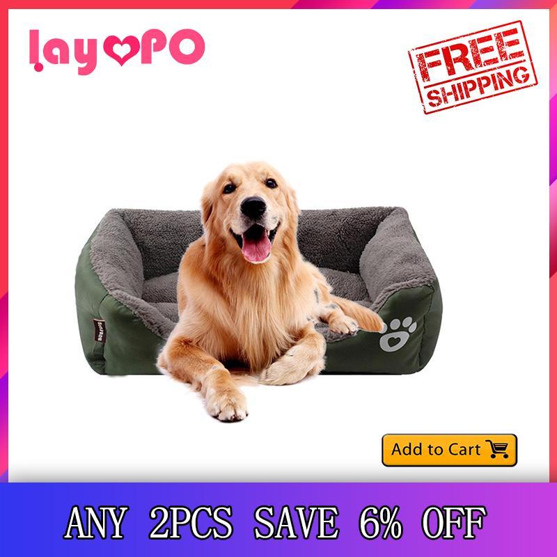Self-Warming Cat and Dog Bed Cushion Sofa Bed Mat Free shipping