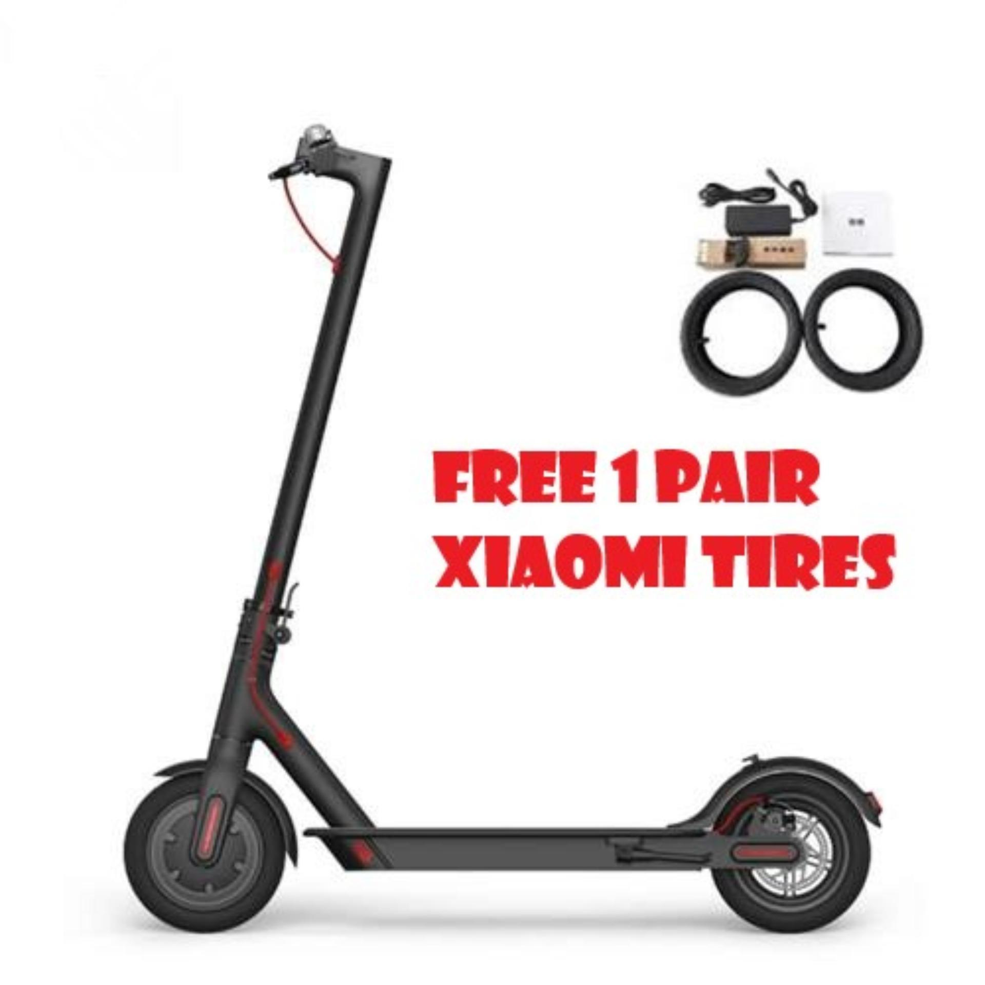 Xiaomi Mijia Folding Electric Scooter M365 Internatiol Version Limited  Edition With Free 1 pair of tire