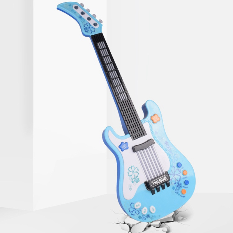 Giá Cực Sốc Khi Mua Kids Guitar Toy For Blue Guitar Musical Instruments Birthday Gift Party Favor For Kids Perfect For Education, Entertainment, Parties