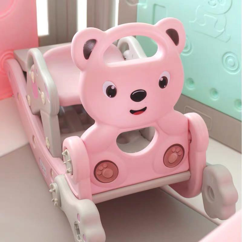 Bear Style 3in1 Rocking Horse Slide By Cx1.