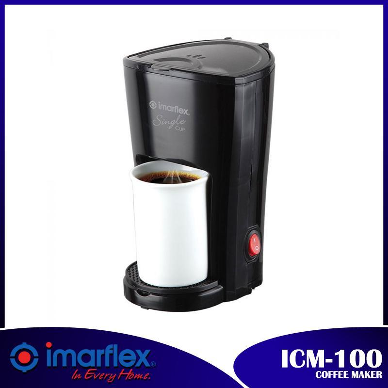 Imarflex Icm-100 Coffee Maker Black By D&d.