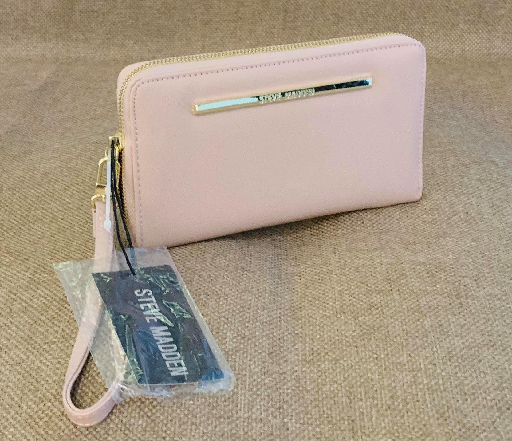 Ambiguo simplemente sentido  Steve Madden Long Wallet 🌸🌸In blush🌸🌸 Brand new and Imported from VA,  USA | Lazada PH