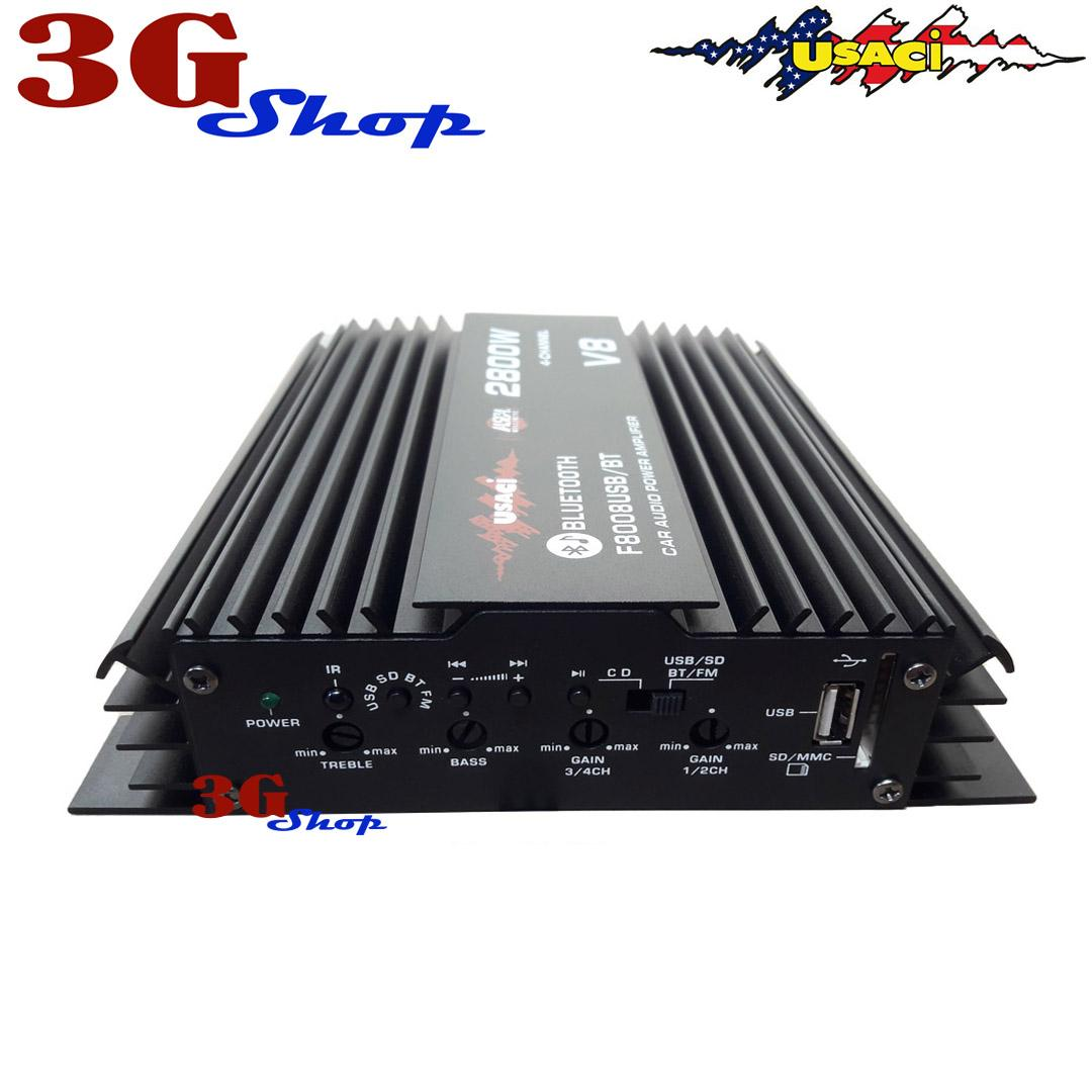 V8 Car Audio Power Amplifier