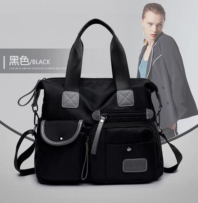 Ella Fashion #607 Large Size Nylon Bag Korea Fashion Tote Bag Mommy Bag Diaper Bags