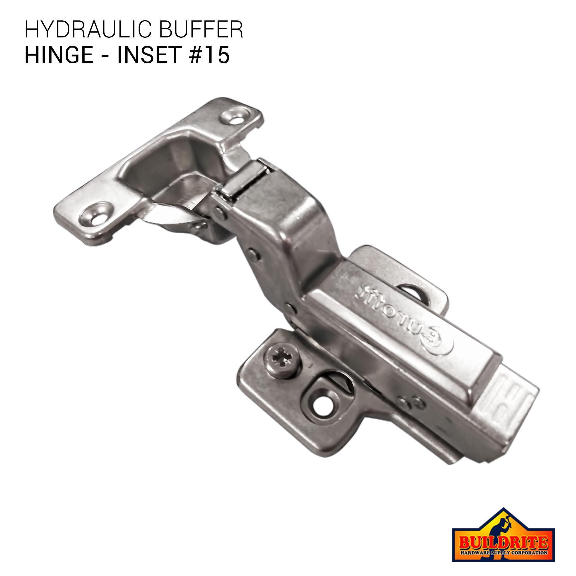 EUROFIT H95 Hydraulic Buffer Hinge, Inset #15 - 1 PC
