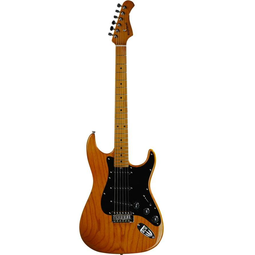 Riverhead RST-3 Ash Electric Guitar (Ash Honey Natural)