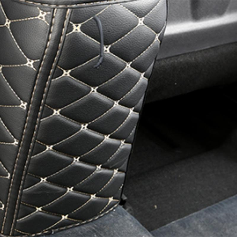 Car seat armrest Anti-kick pad For Kona Encino leather Protective Cover Car Anti-Dirty Mat accessories