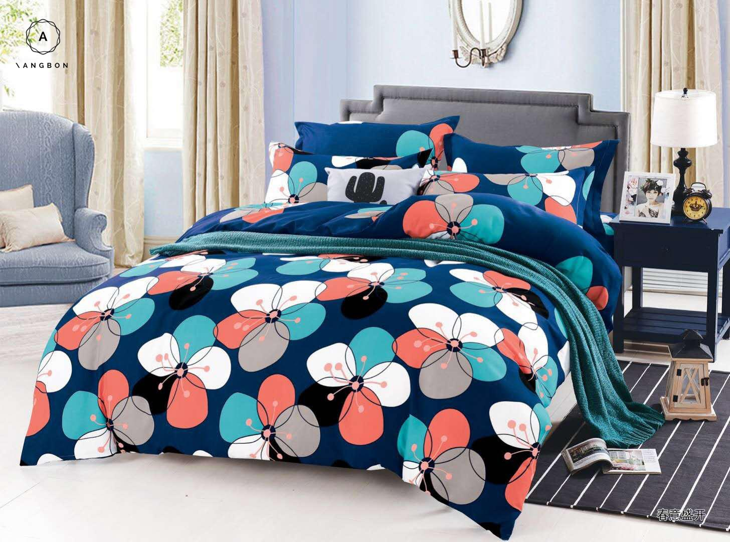 18335bf79422 Angbon 3in1 King Size Bedding Bed Sheet Set 72*75+7.8