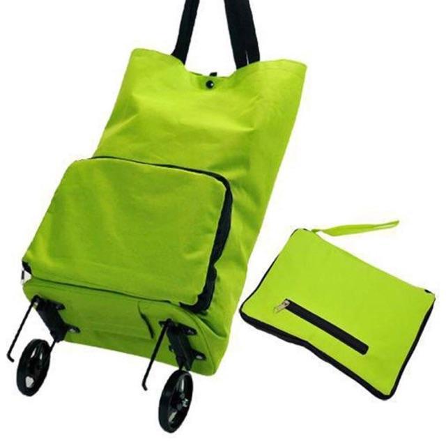 Folding Trolley Bag Portable Shopping Bag Cart By Susan1188.