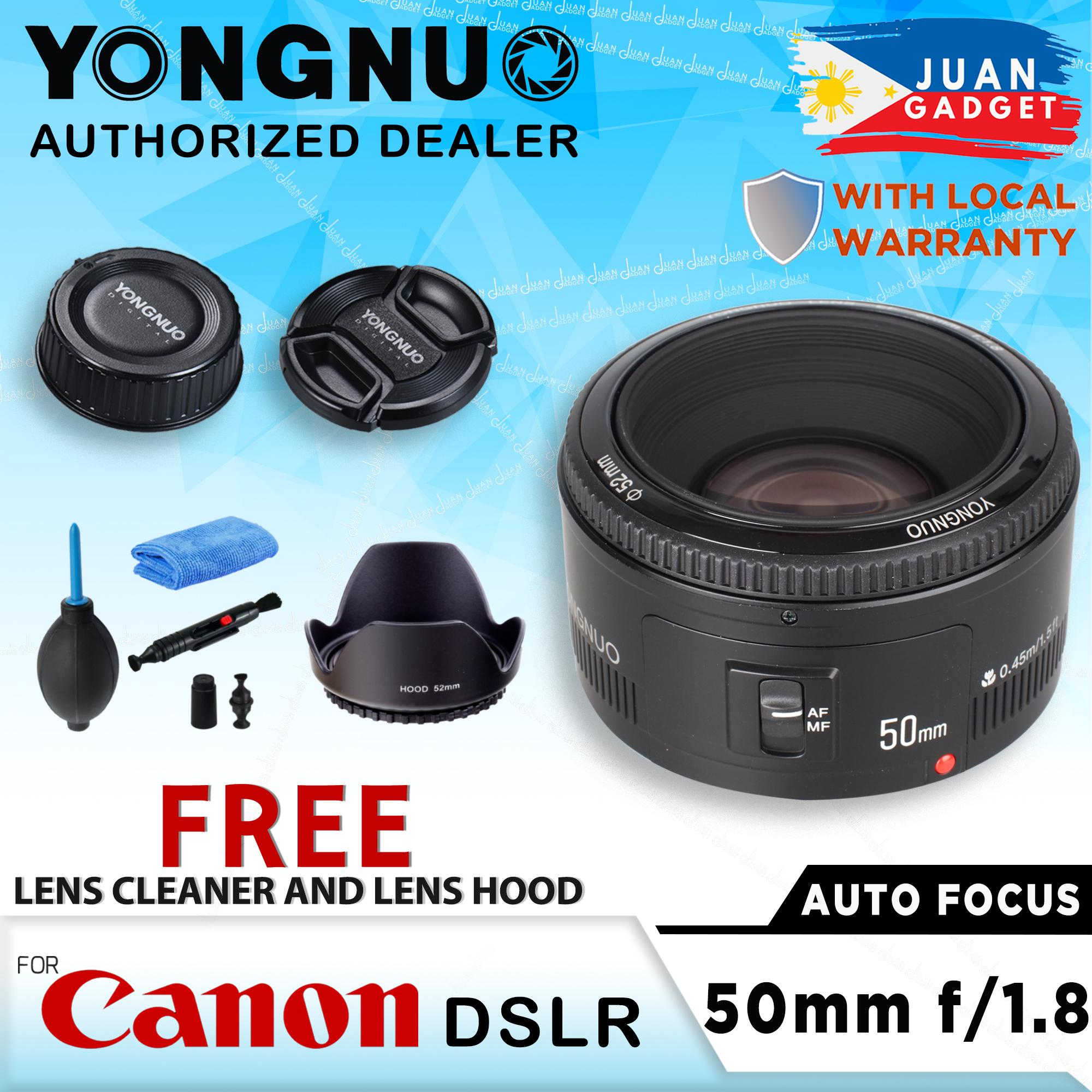 Yongnuo 50MM YN50MM 50mm f/1 8 Prime Lens for Canon EF Auto Focus