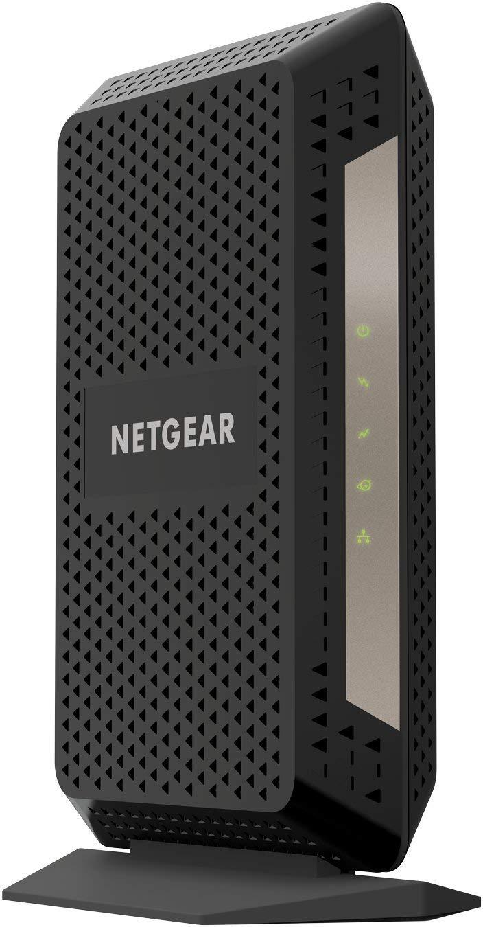 NETGEAR Gigabit Cable Modem (32x8) DOCSIS 3 1 | for XFINITY by Comcast,  Cox  Compatible with Gig-Speed from Xfinity (CM1000-1AZNAS)