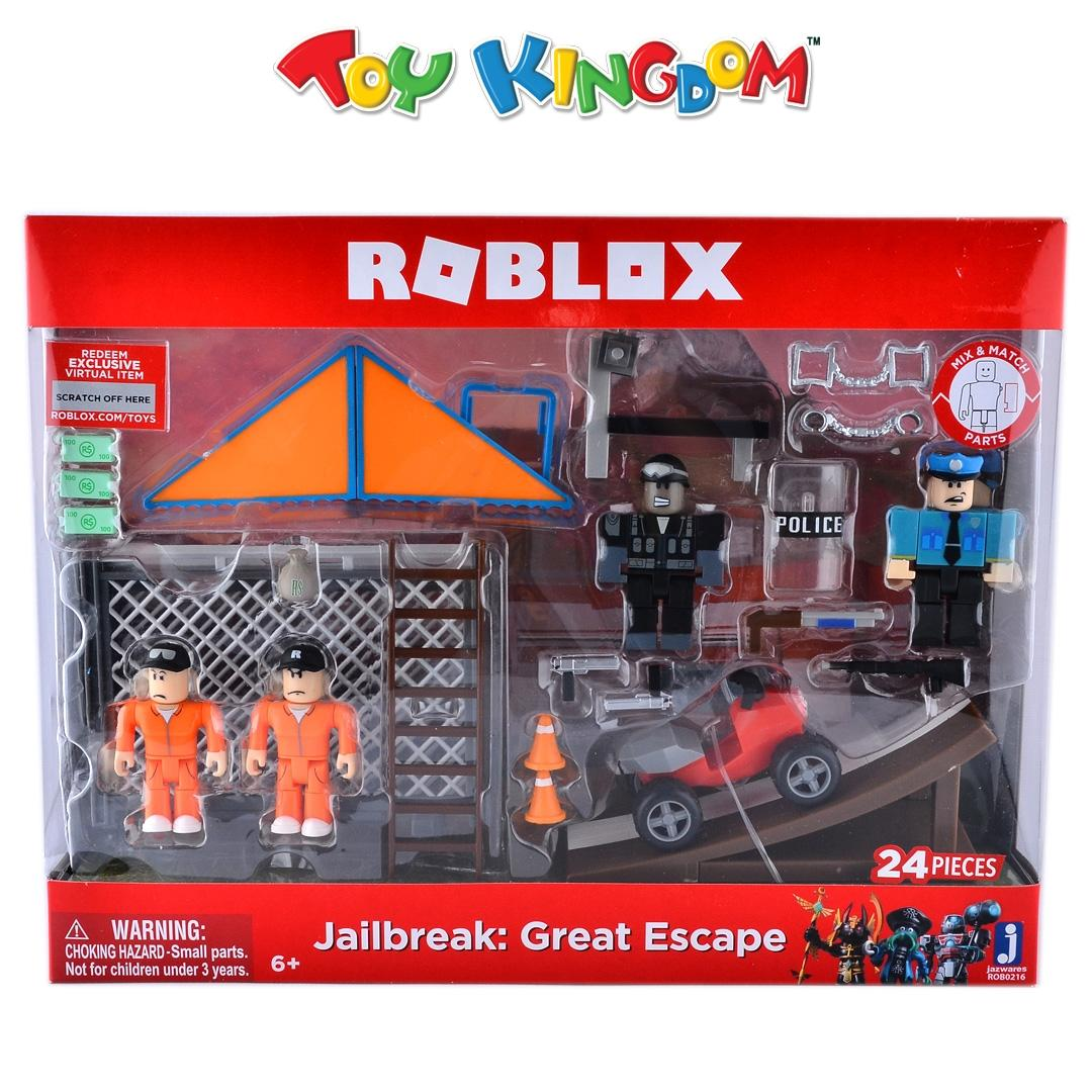 Roblox Jailbreak: Great Escape Figure Playset for Kids