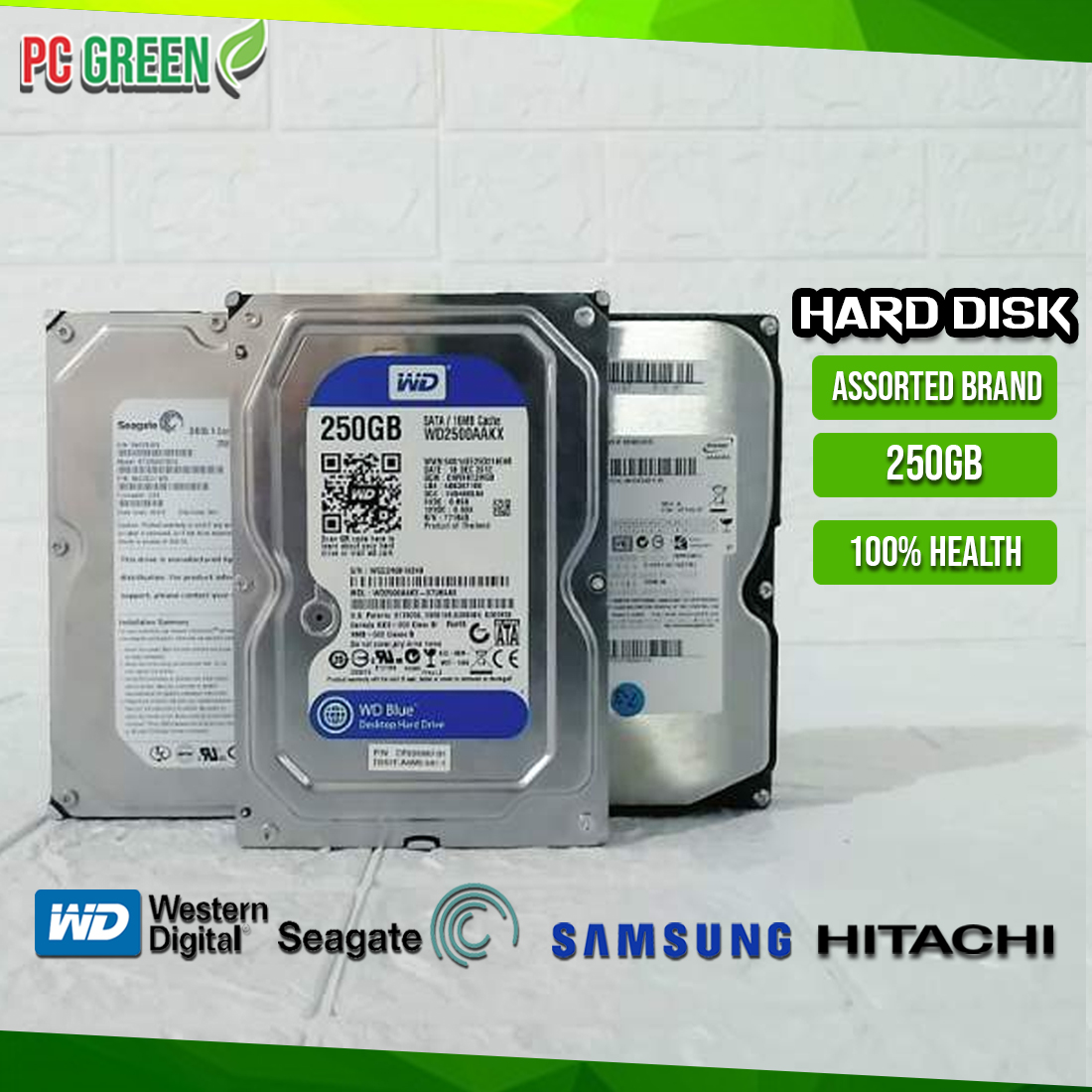 1TB 320GB 2TB Tested Hard Drives 500GB Seagate Barracuda 160GB
