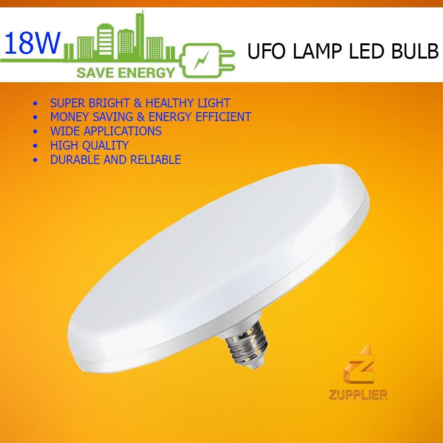 Original Yeelite 18w Energy Saving Ufo Lamp Led Bulb E27 Flat Bulb 220v Led Light Ceiling Light For Home Lighting (daylight / Warm White) By Zupplier.