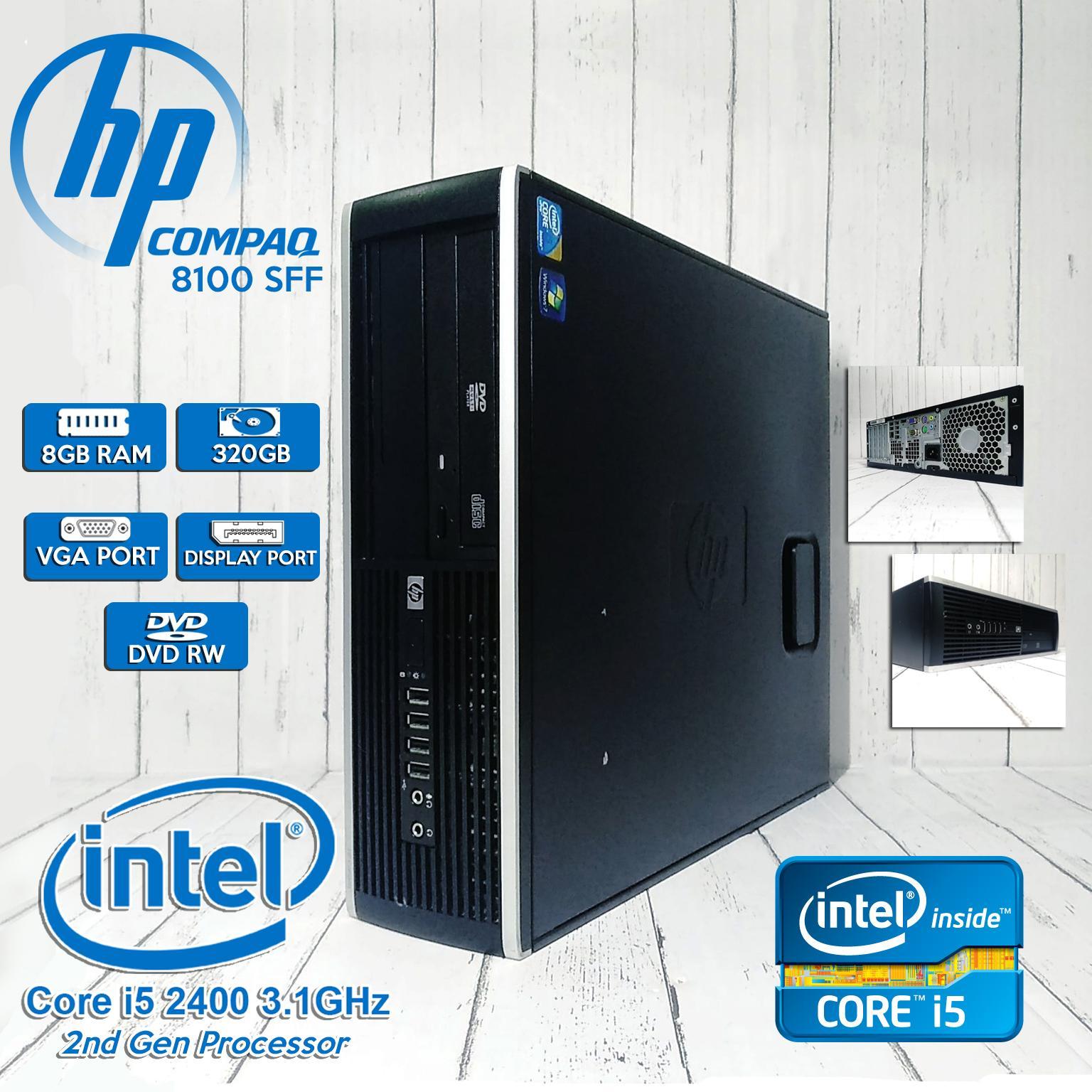 [CPU] HP Desktop i5-2400 3 1Ghz (2nd Gen) 8GB 320GB