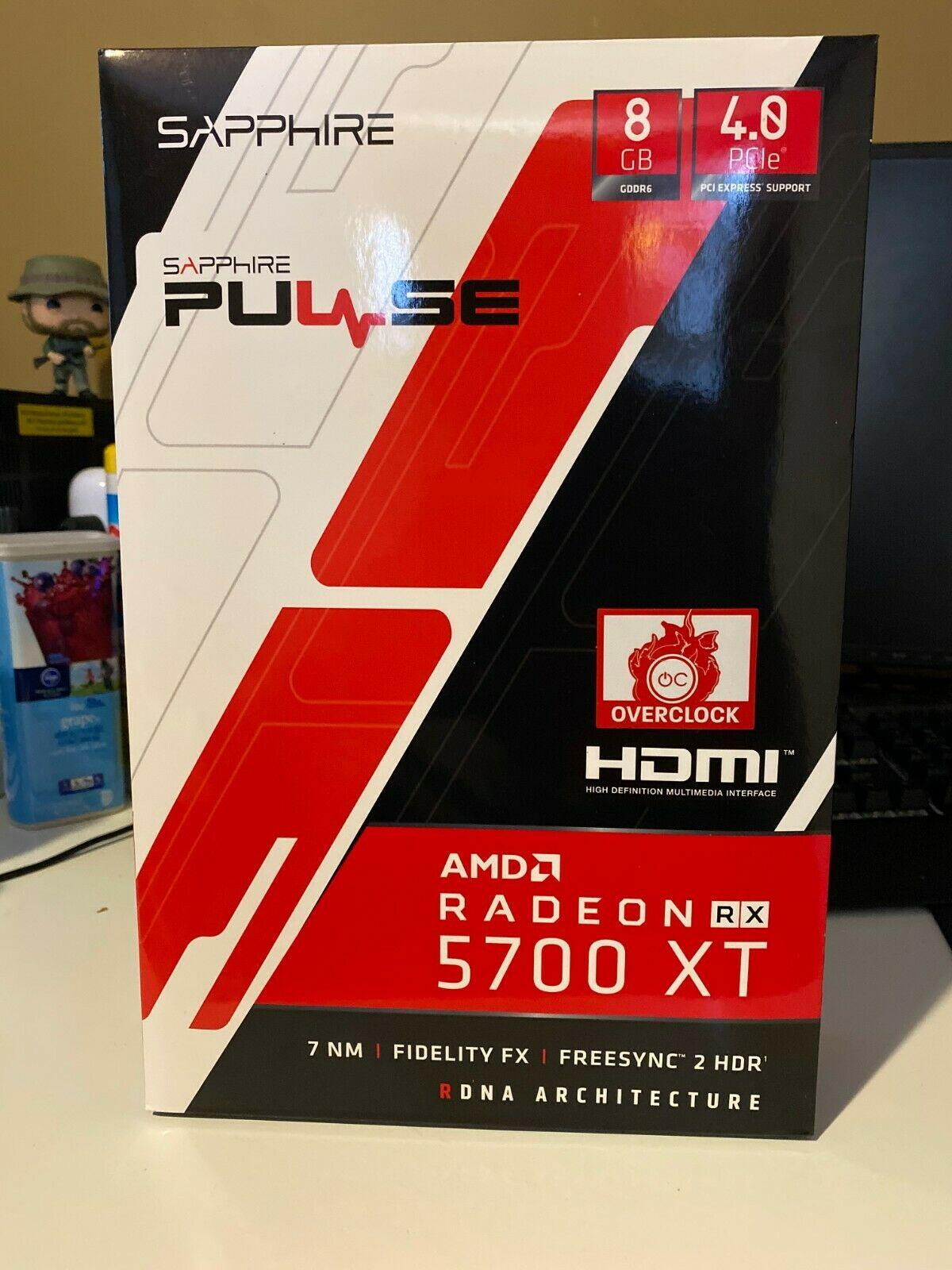 Sapphire Amd Radeon Rx 5700 Xt 8gb Gddr6 Graphics Card 11293 01 20g Lazada Ph