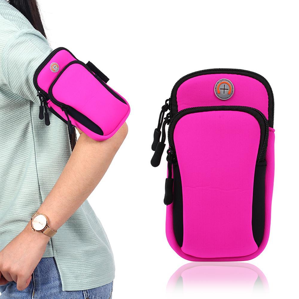Running Sport Bags Men Women Mobile Phone Arms Package Sport Equipment Jogging Run Bag Accessories Outdoor