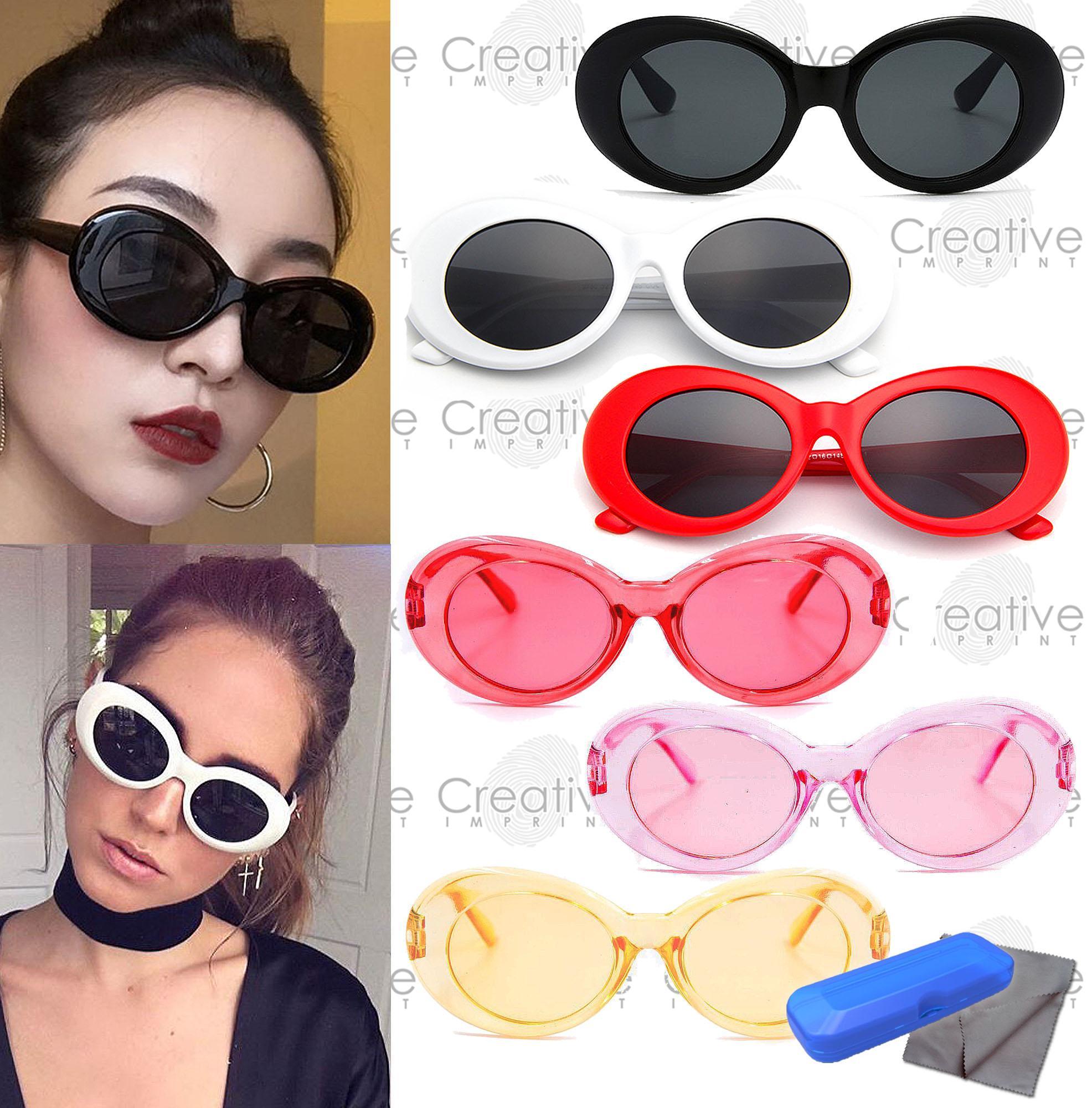 2f61c6d0b43 Creative Imprint Oval Goggle Sunnies (FREE CASE   WIPER) Sunnies High Fashion  Trendy Korean