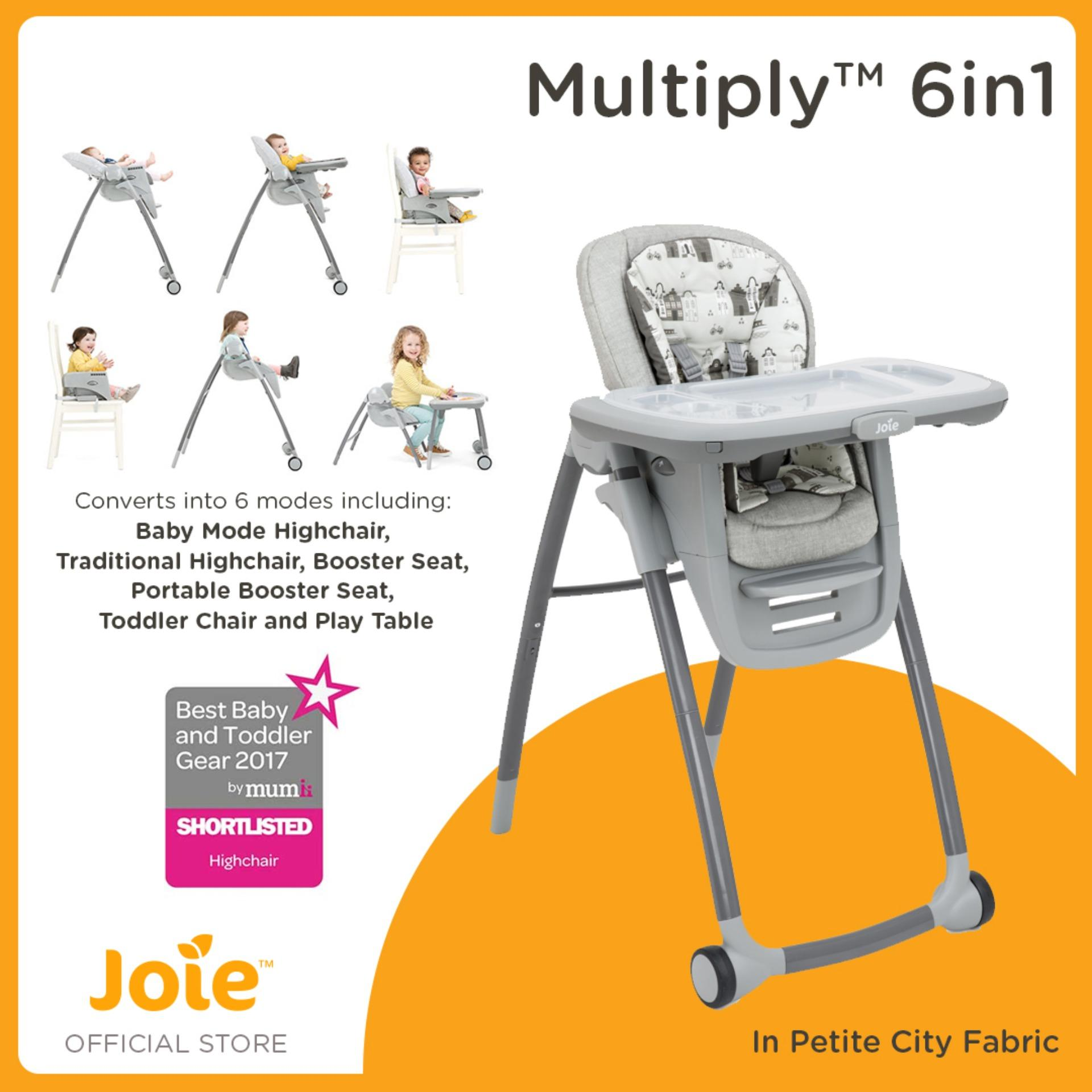 Joie Multiply 6-in-1 High Chair - Petite City  sc 1 st  Lazada Philippines & High Chair Booster for sale - Booster Chairs online brands prices ...