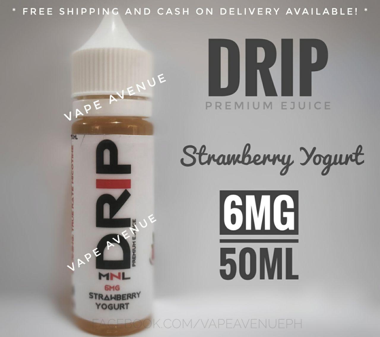 DRiP Premium e Liquid 50ML 3MG / 6MG Premium [ All Flavors ] eliquid e  juice vape juice kit
