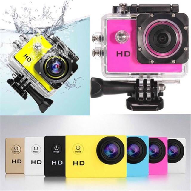 smart  Action Sports Camera Waterproof 1080P HD Under Water Cam A7