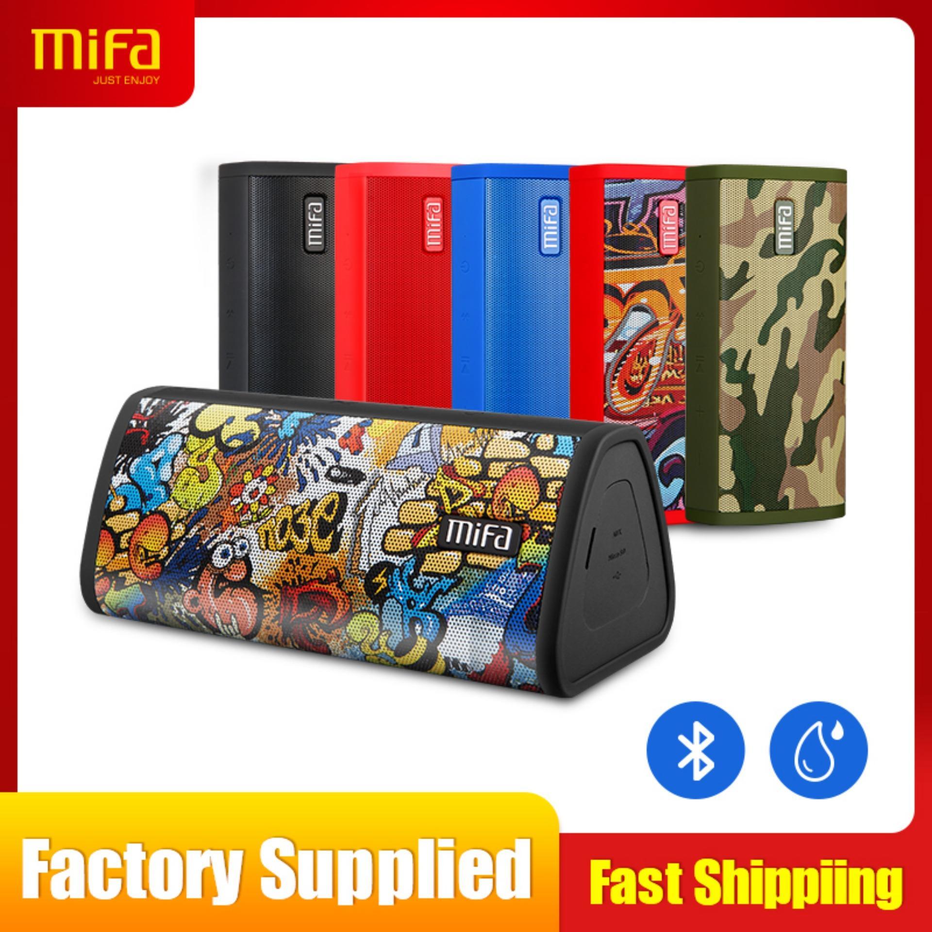 d913df0845b [24 MONTH WARRANTY]MIFA A10 Wireless Bluetooth Speaker, 16-Hour Playtime,