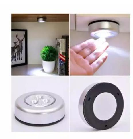 Touch Stick Tap Night Led Light For Cabinet Closet Wall Lamp By Hsm Store.