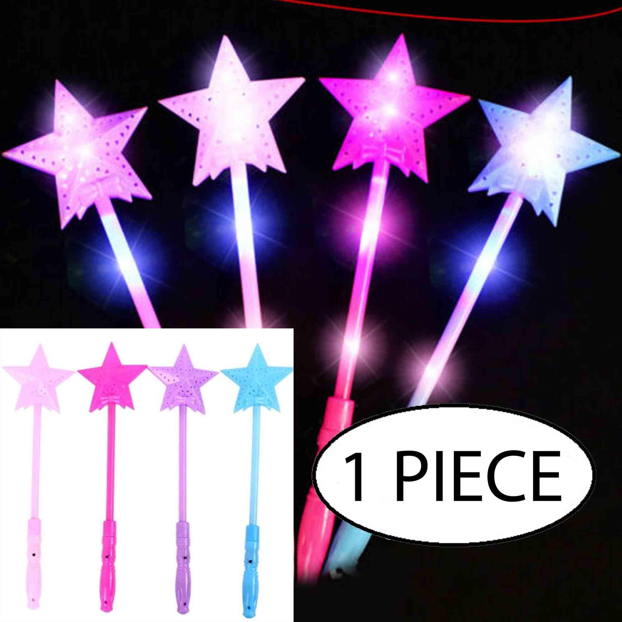 LED Flashing Stick Light Up Star Fairy Magic Wand Sticks Party Festival Toy Gift