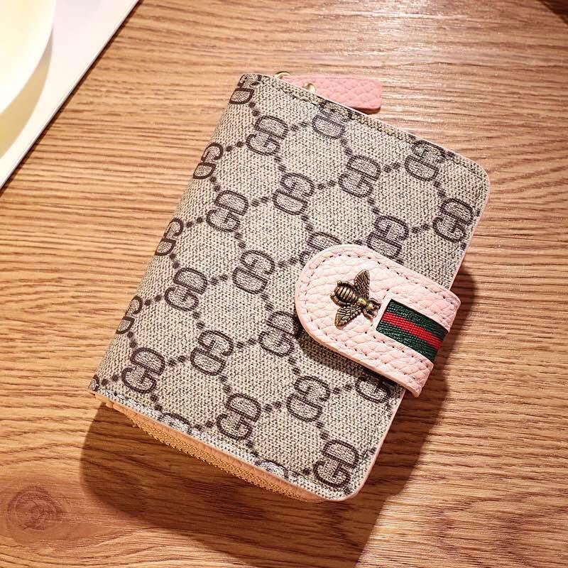 Ella Fashion GD Korean Leather Wallet Folding Wallet Womens Wallet #632
