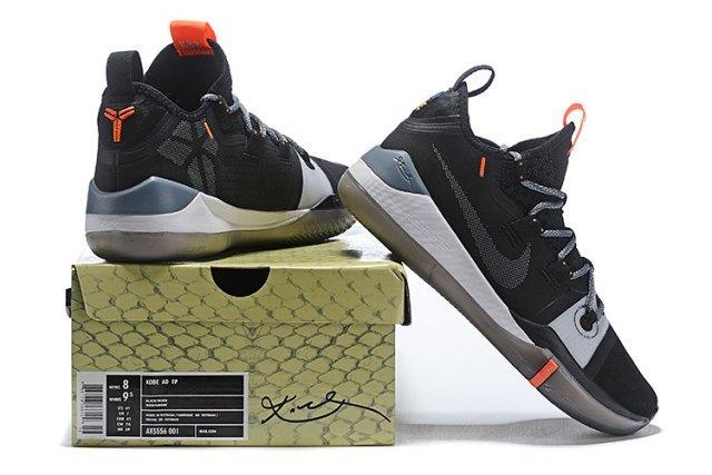 9de62f6b95d ... inexpensive original nike kobe ad shoe black grey av3555 001 mens  sportswear basketball shoes bryant sneakers