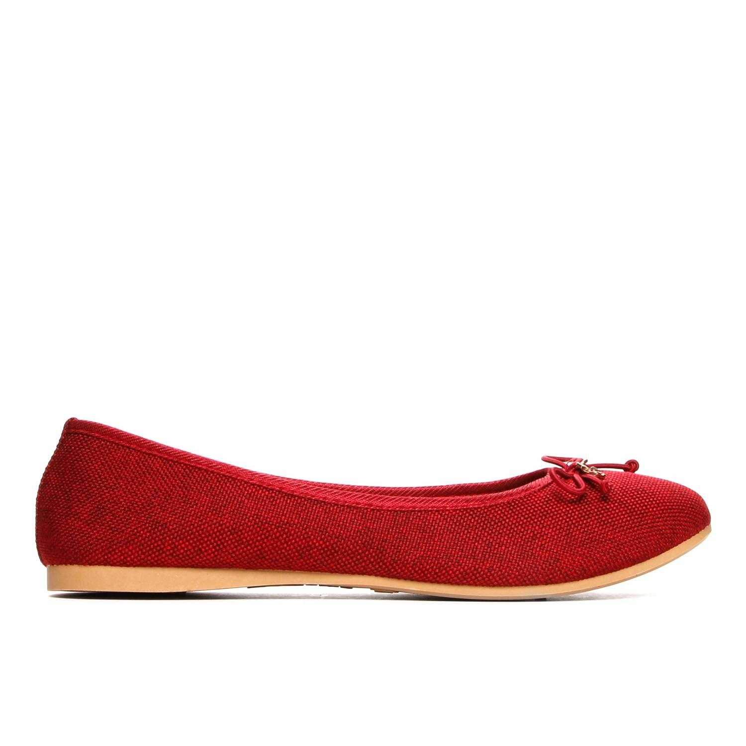 b810b5341d Product details of Solemate Ladies Rosie Ballet Flats in Red