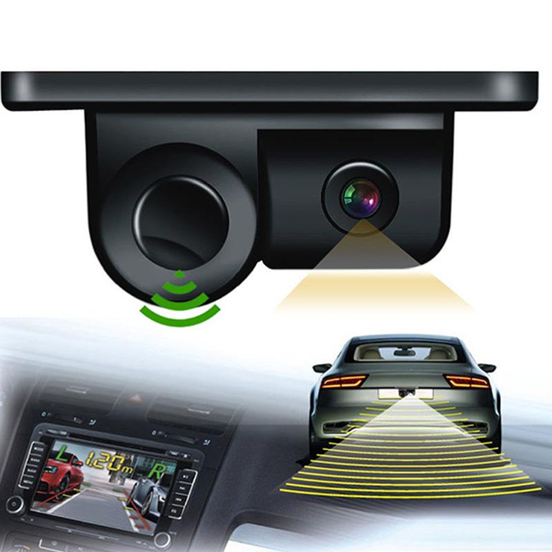 Beautymaker 2 In1 Lcd Car Suv Reverse Parking Radar Sensor Car Rear View Backup Camera - Intl By Beautymaker.