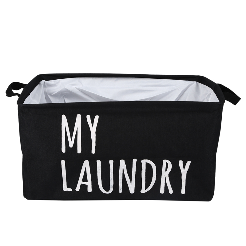 Mã Khuyến Mại New My Lundry Polyester Cotton Laundry Basket Storage Basket Clothing Debris Storage Box Storage Box Storage Box