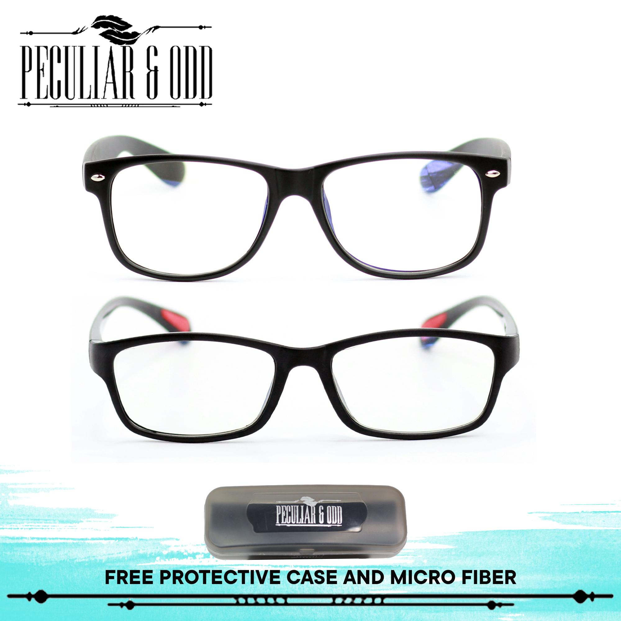 7b1b105082e Peculiar Set of 2 8081 and 8818 Unisex Computer Eyeglasses Anti Radiation    Gaming   Gadget