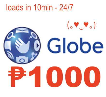 Gl0be/tm Regular Mobile Auto Load Max 1000 Pesos By Acts29.