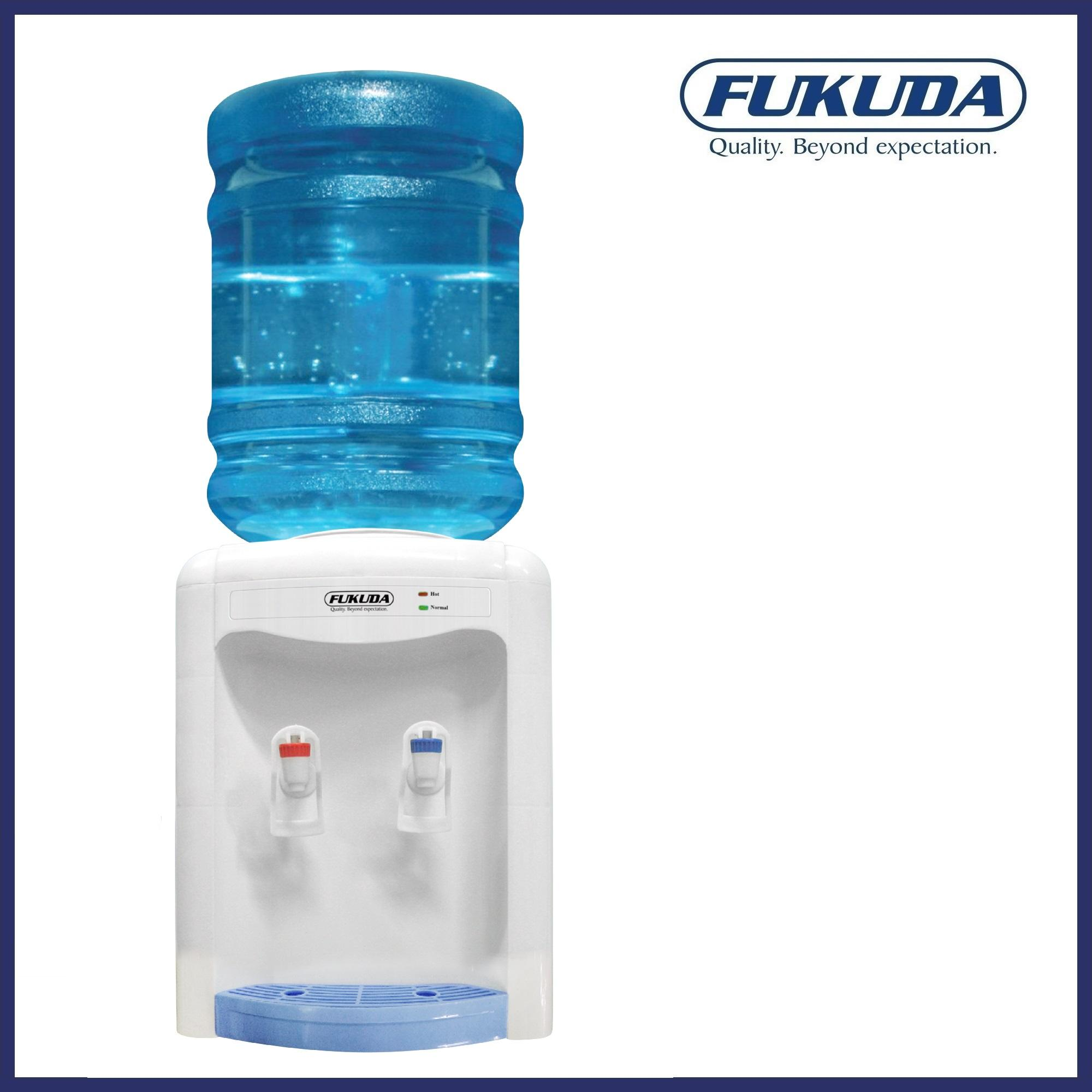 Fukuda Fwd-788l Table Top Hot And Normal Water Dispenser (white) By Fukuda.