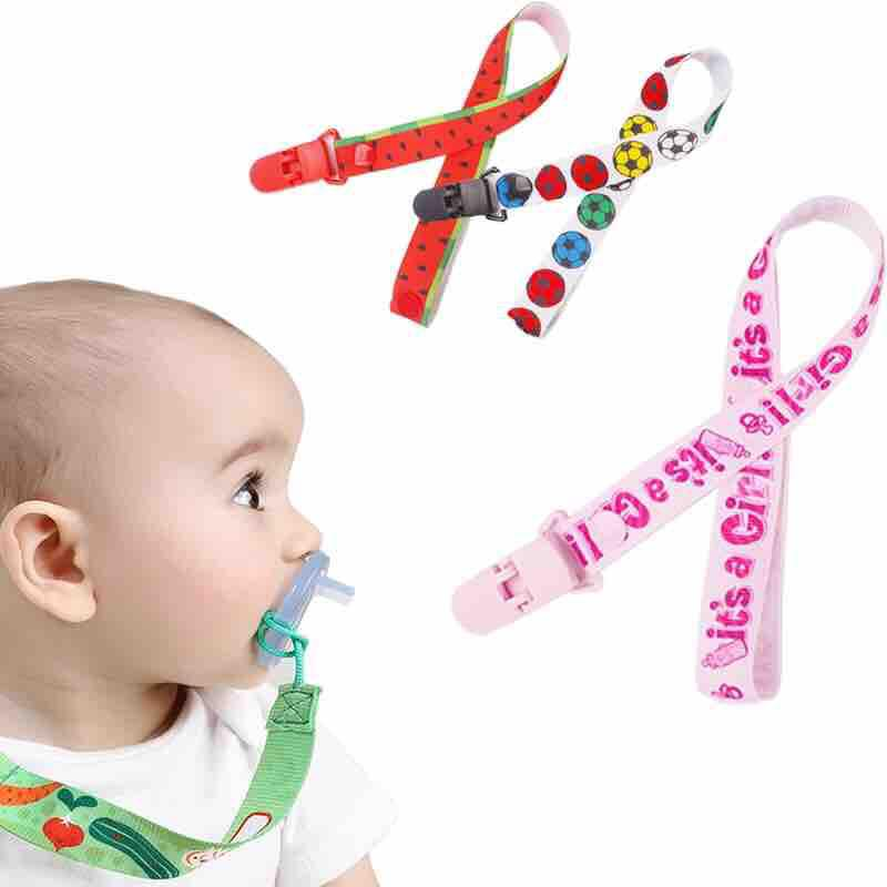 Paci Clip pacifier holder Pacifier Clip Baby Shower Gift Mini Pacifier Clip Soother Clip Pacifier Clip Binkie Clip Binky Clip