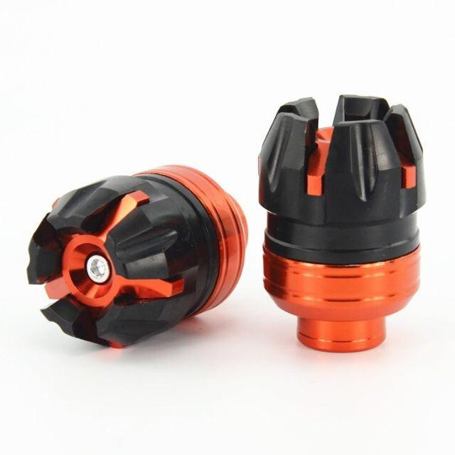 Motorcycle Axle Cap Big (orange) By J2.racing.