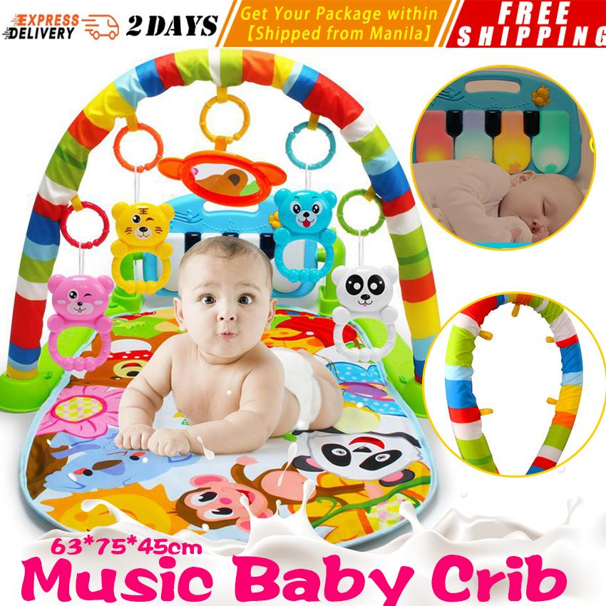 0478f7c0789 ... Activity Gym   Playmats. Baby Play Mats toys fitness Frame is Newborn  Foot Piano Music Game Blanket Play Mats Musical