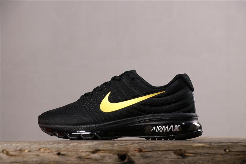 Siêu Tiết Kiệm Khi Mua Original_Authentic_Nike_Air_Max 2017 Men'S Full Palm Cushion Cushioning Running Shoes 849559-001