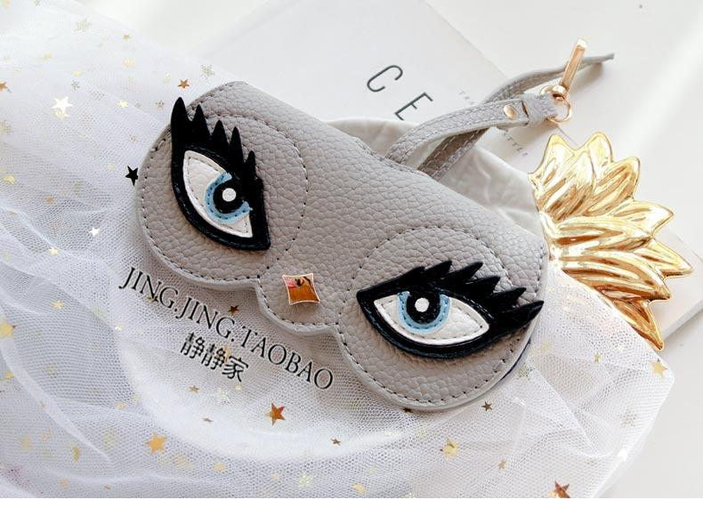 INS Sunglasses Protective Folder Sunglasses Case Bag hua duo bao gua shi Bag And Hung Creative Can AI Meng Douyin Hot Selling