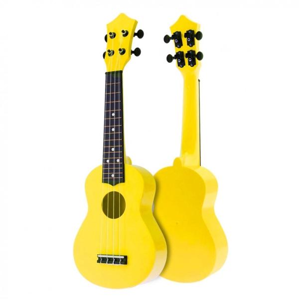 21 Inch Acoustic Ukulele Uke 4 Strings Hawaii Guitar Guitar Instrument for Kids and Music Beginner Malaysia