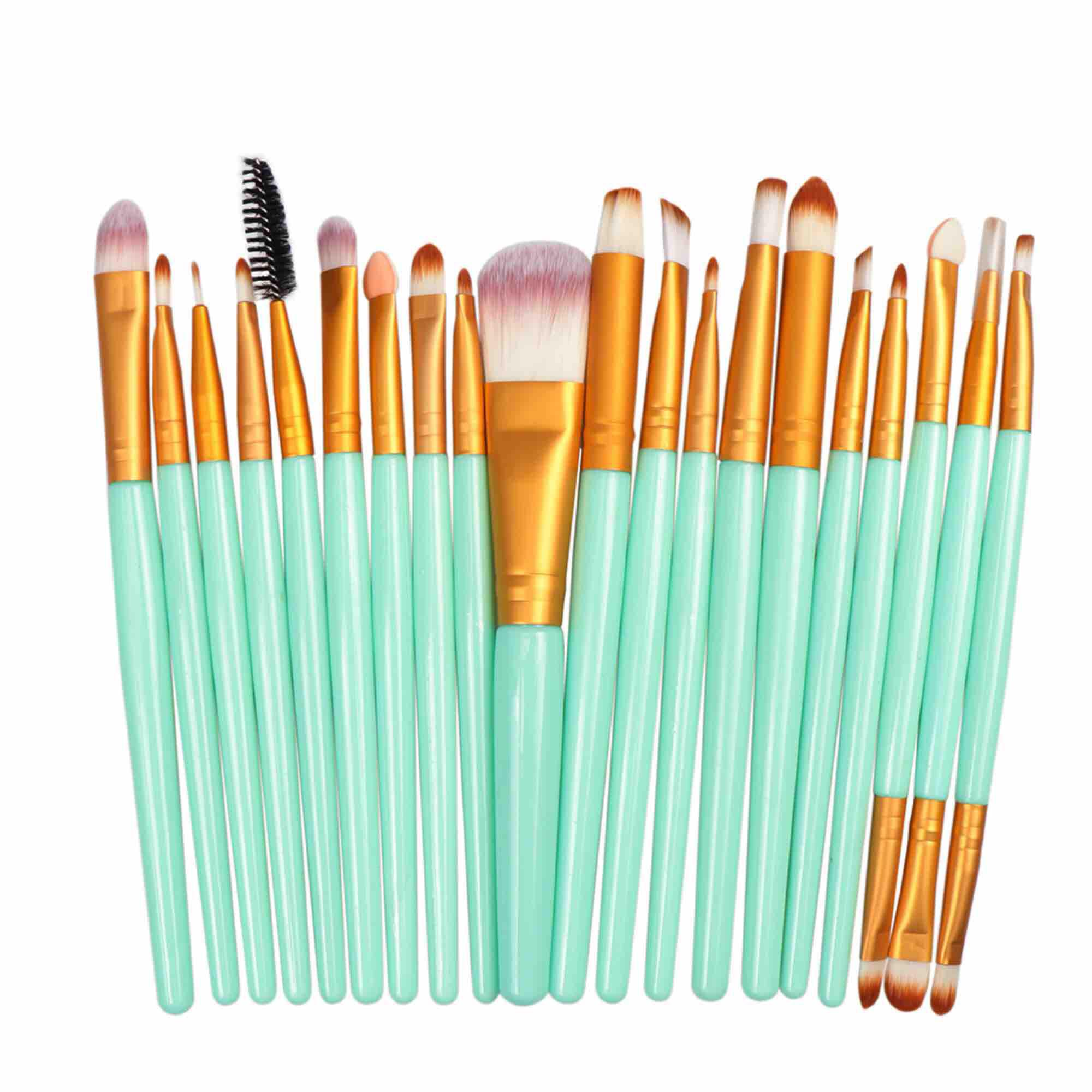 Luckin Mart 20 Pcs Professional Soft Makeup Brushes Set By Luckin Mart.