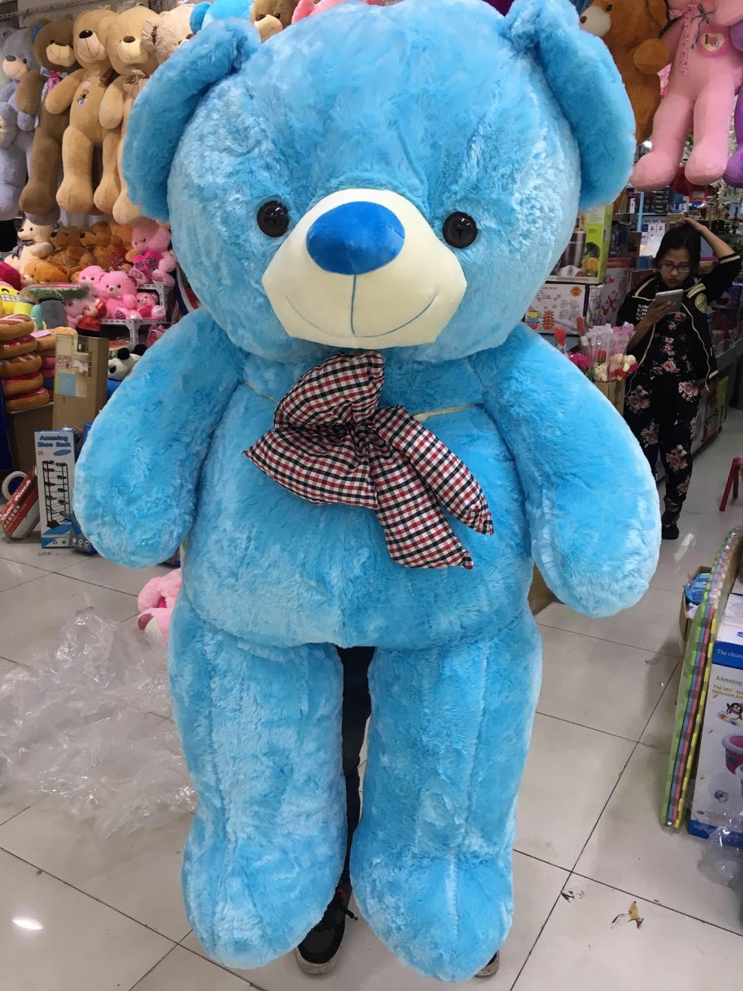 Teddy bear Stuff toy human size bear almost 5ft or 130cm for gift birthday