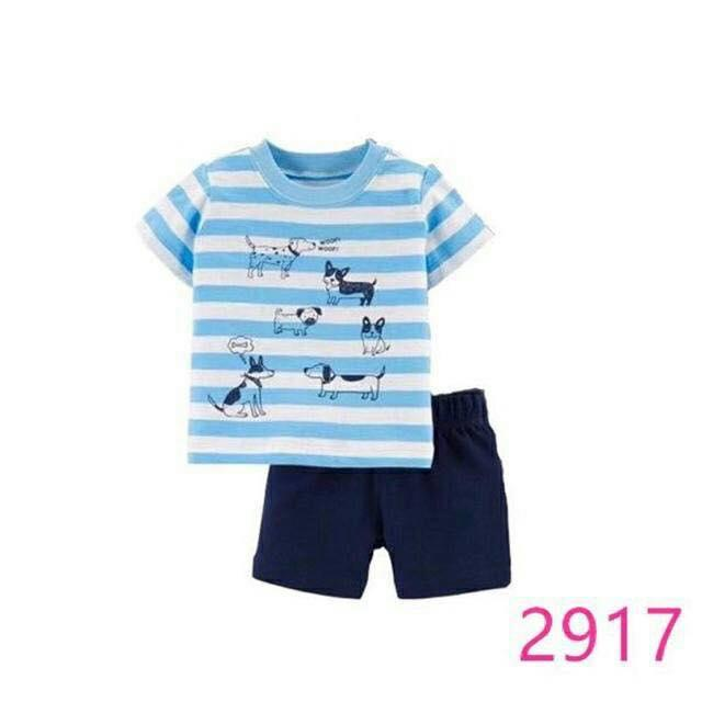 Baby Carters Baby Boys 2 Piece Shorts Set